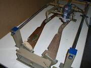 Gunstock Blank Carving Duplicator- Model With Carbide Cutters