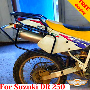 For Suzuki Dr250 Luggage Rack System Dr 250 Pannier Rack For Soft Bags Or Cases