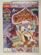 2000 Mt Cereal Box General Mills Count Chocula Spooky Spectacular Frame Y156b6