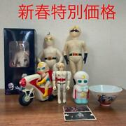 Moonlight Mask 8 Piece Figurines Set Retro Collectible Free Shipping From Jp