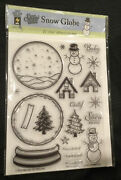 New Snow Globe - Hotp 1196 - Hot Off The Press Acrylic Stamp Set