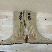 Ugg 5819 Women's Classic Cardy Ii Sweater Winter Boots Size 7