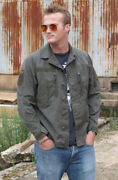 Authentic Austrian Army Ripstop Combat Jacket Coat Military Fieldshirt F2 Olive