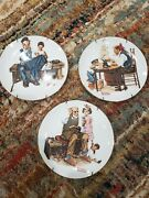 Limited Edition Norman Rockwell Decorative Plates