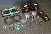 Vito's Performance Power Pro Banshee Pistons And Gasket Kit +6hp Over Stock 64.00