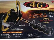 Jiffy 4g Model 41 Gas 4-stroke Ice Drill - Auger With 9 Stx Drill Assembly