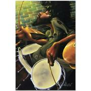 Break Beat Fever Limited Edition Giclee On Canvas