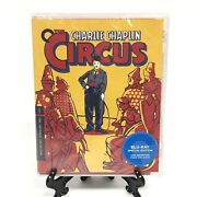 The Circus Blu-ray Special Edition Criterion Collection 996 New Sealed Chaplin