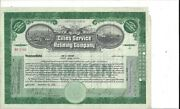 Cities Service Refining Company...1935 Common Stock Certificate