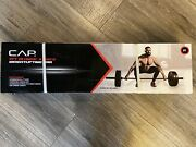 🔥 New Cap 7 Ft Olympic 3 Piece Weightlifting Bar 300lb Capacity. Ships Fast.