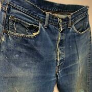 Leviand039s 501 Bige Original Vintage Used Men Jeans Collectible Free Shipping Japan