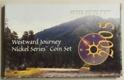 2005 And 2006 Westward Journey Nickel Series Uncirculated Coin Sets