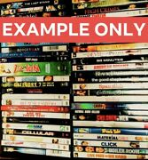 Lot Of 50 Used Dvd Movies -bulk Dvds - Used Dvds Wholesale Lot ⭐️with Case
