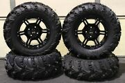 Yamaha Grizzly 660 27 Mud Lite Ii 14 Viper Blk Atv Tire And Wheel Kit Irs1ca