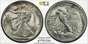 1937 S Walking Liberty Half Pcgs Ms 66 Snowy White With Great Blooming Surfaces