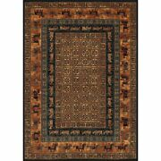 Old World Classic 7and03910w X 11and0392l Power-loomed Pazyrk Area Rug In Burnished Rust