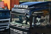 To Fit 2013+ Daf Xf 106 Space Truck Stainless Roofbar + Spot + Airhorn + Beacon