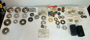 Lot Of 35+ Mercruiser And Omc Propeller Nuts And Thrust Washers. New And Used