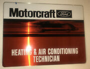 New Vintage Ford Motorcraft Technician Metal Sign Never Used