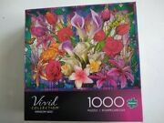 Buffalo Games Vivid Collection Window Lilies 1000 Piece Jigsaw Puzzle