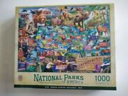 National Parks Of America Masterpieces 1000 Piece Jigsaw Puzzle