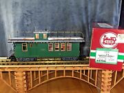 Lgb 44750 Colorado And Southern Caboose Metal Wheels And Lighting G Scale