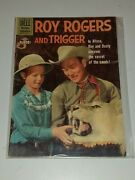 Roy Rogers And Trigger 135 Vg/fn 5.0 Dell Western January February 1960
