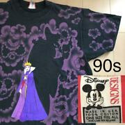 Snow White The Evil Queen 90and039s Vintage T-shirt Onesize F/s From Japan