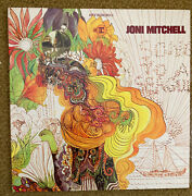 Joni Mitchell 1968 Vinyl Lp Song To A Seagull Excellent Condition Rs6293
