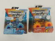 New Monster Jam - Fire And Ice Walmart Exclusive - W Whiplash And Northern Nightmare