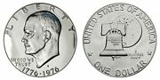 Roll 20 1976 S Proof Ike Eisenhower Dollar 40 Silver Avg Unc Condition