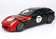 1/18 Bbr Ferrari Gtc4 Lusso T P18143f With Leather Base