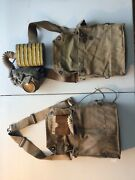 U.s Wwi Gas Mask Yellow Can Rare With Bag Complete