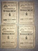 Mrs. Beeton's Book Of Household Management New Edition. Parts 4/5/8/10 Ward Lock