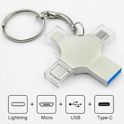 Otg Usb Flash Drive Type C 4 1 3 0 Memory Iphone Android Pc 8gb 16gb 128gb 4in1