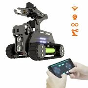 Tank Wifi Wireless Smart Robot Car Kit Robotic Arm With Target Tracking Video