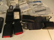 Lot Of 10 Child Seat Locking Clips Ford Parts