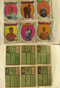 1971-72 O-pee-chee 1-264 Complete Set Opc Minus 4 Cards