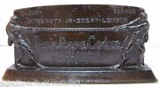 Ajax Rope Co Antique Advertising Paperweight Sign Singer Bldg Ny Tug-o-war