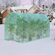 6 Windows Steel Frame Backyard Walk In Greenhouse Solid Stable Structure Perfect