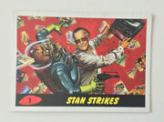 Stan Lee Mars Attacks Topps Promotional Trading Card 2013 Comikaze Collectible