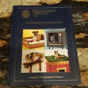 Woodworkers Journal 24 Weekend Projects For Pets 2007 Hardcover