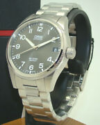 Oris Men's Big Crown Propilot 41mm Stainless Steel Watch Brand New Wbox And Papers