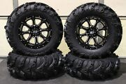 Can Am Renegade 1000 27 Mud Lite Ii And 14 Sti Hd4 Atv Tire And Wheel Kit Can1ca
