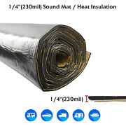 72and039and039x39and039and039 Car Insulation Sound Deadening Heat Shield Thermal Noise Proof Mat