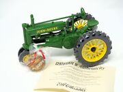 We Care John Deere Model A Die-cast Tractor 1/16 Limited Edition 564 Of 5000