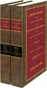 A Law Dictionary Adapted To The Constitution And Laws Of The United States A…