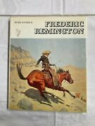 Vintage Frederic Remington By Peter Hassrick Illustrated Hardcover Art Book