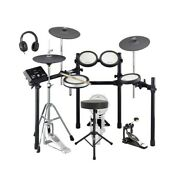 Yamaha Dtx582k Digital Drum Kit With Pearl Kick Pedal Throne And Stick Bag