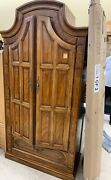 Thomasville French Country Dresser Stunning 2 Door Chest-armoire / Cabinet